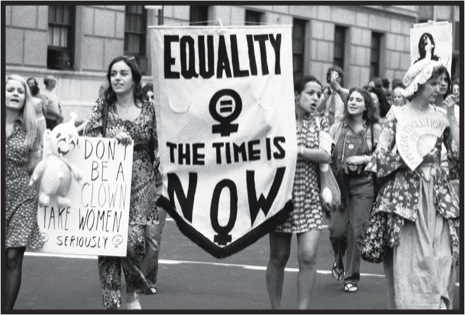 Woman's Liberation parade - Fifth Avenue New York 1971