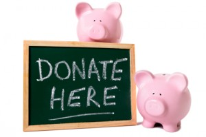 fundraising piggy bank
