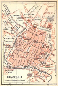france-beauvais.-nice-colored-old-city-map-plan.-1909-wdjb--130651-p