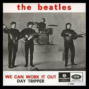 The Beatles - We Can Work It Out (single)